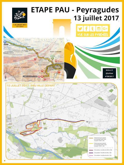 Etape Pau - Peyragudes du Tour de France 2017