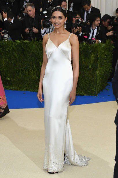 The beautifuldeepika padukone at the MET Gala 7