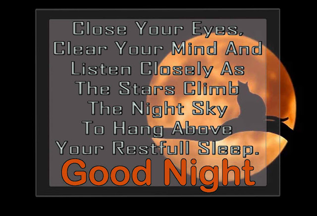 Message Images Wishing Good Night