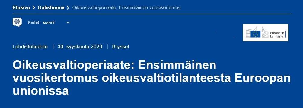Euroopan Ihmisoikeustuomioistuin Ratkaisut