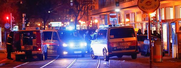 Autriche : au moins 2 morts et plusieurs personnes blessées dans une probable attaque terroriste dans plusieurs lieux à Vienne