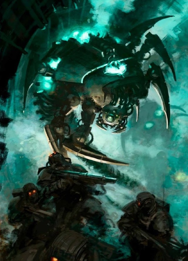 Necron Codex Preview: The Novokh Dynasty, Flayed Ones and Canoptek Wraiths