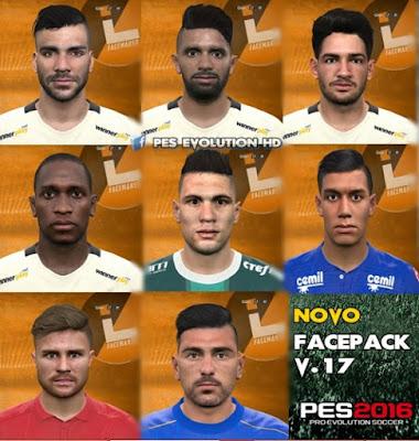 PES 2016 Facepack V.17 by Lucas Facemaker