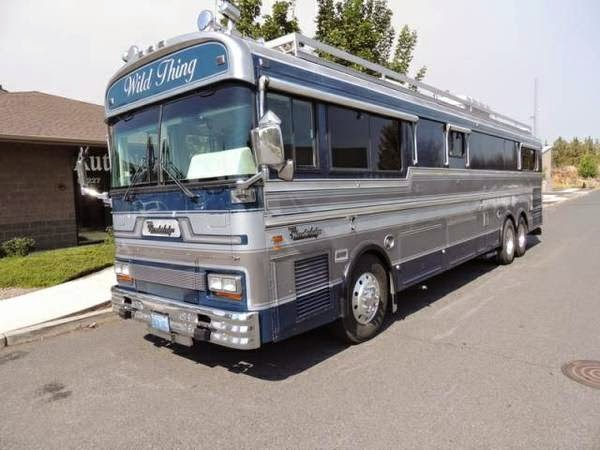Used rvs 1986 bluebird wanderlodge for sale by owner for Motor home for sale by owner