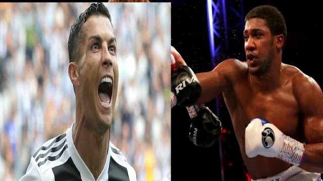 Cristiano Ronaldo And Anthony Joshua