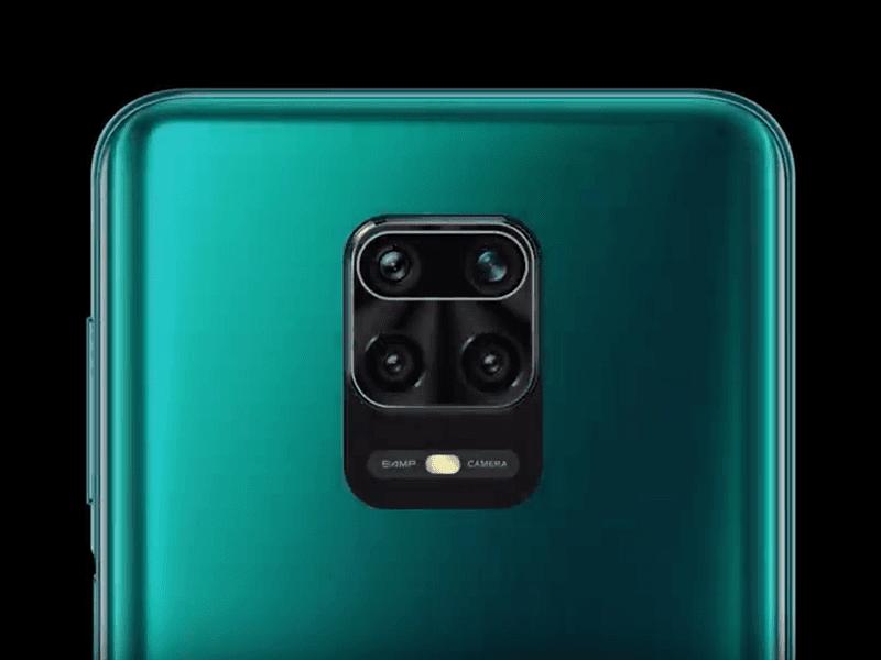 Xiaomi Redmi Note 9 Pro Max rear cameras