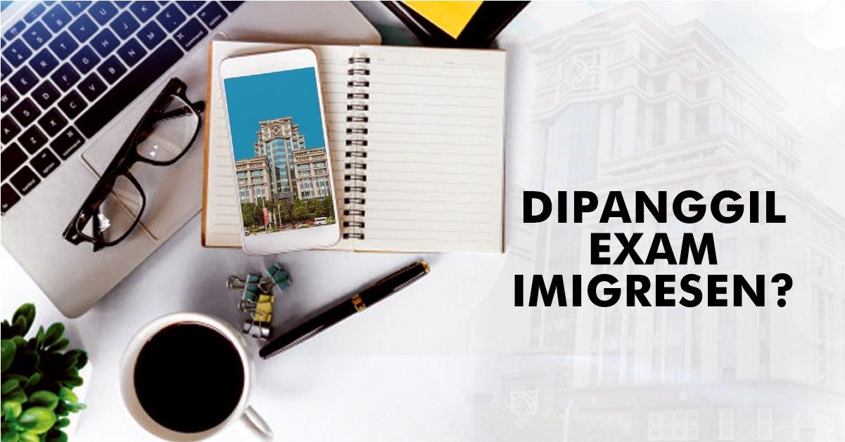 Rujukan Contoh Soalan PSEE Pegawai Imigresen KP19 Edisi 2020