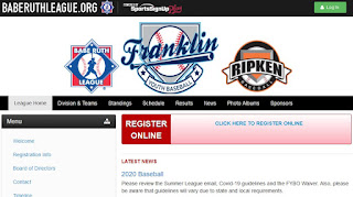Franklin Youth Baseball - registration now open