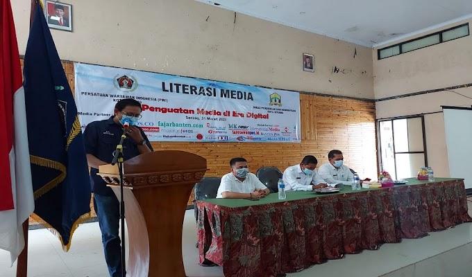 Gelar Literisasi Media Bagi Guru, PWI Siap Bantu Sekolah di Kota Serang dalam Menyerbarkan Informasi