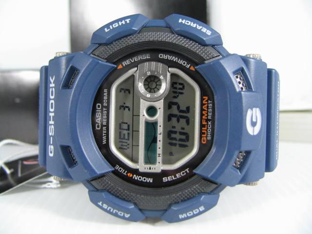 การใช้งาน Casio G-Shock GulfMan G-9100 Series ตอนที่ 2