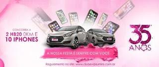 Cadastrar Promoção Sumirê Perfumaria 2019 Aniversário 35 Anos 2 Carros e 10 iPhones