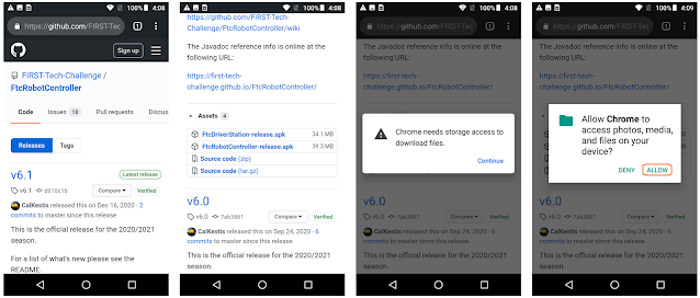 Installing FTC Apps Without Google Play
