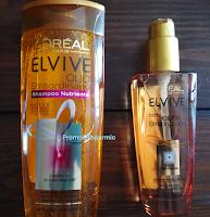 Logo In consegna i 144 kit di Shampoo, Olio e trattamenti Elvive de L'Oreal-Paris da testare