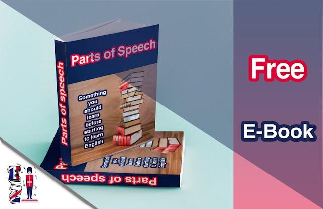 Free E-book : Parts of speech