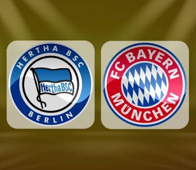 بث مباشر مباراة بايرن ميونخ اليوم امام هيرتا بيرلين جوال بدون تقيطع في الدوري الالماني