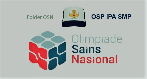 SOAL OSP IPA SMP 2017