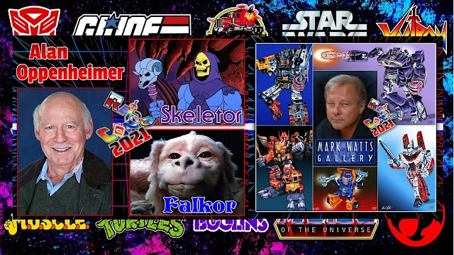 Retro Con 2021 Welcomes Alan Oppenheimer and Mark Watts