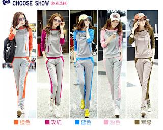Baju Olahraga Korea