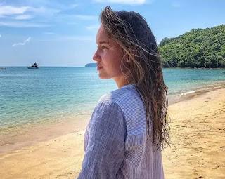 Elena Rybakina At The Beach Webp