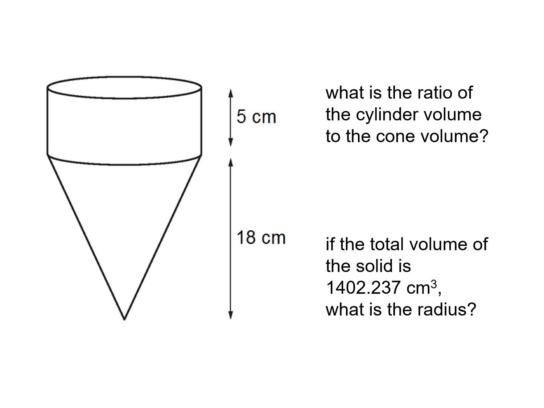 Median Don Steward Mathematics Teaching Cone Sphere