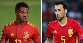 Barcelona duo Busquets and solid Fati statistic as Spain beat Switzerland summarized