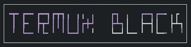 termux black logo