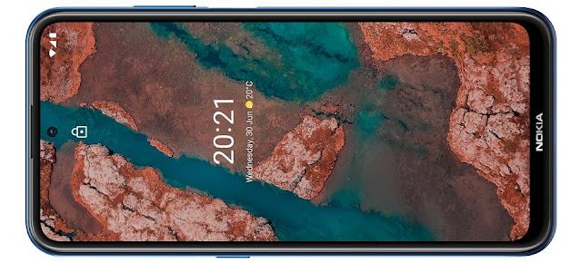 Nokia-X20-size-display