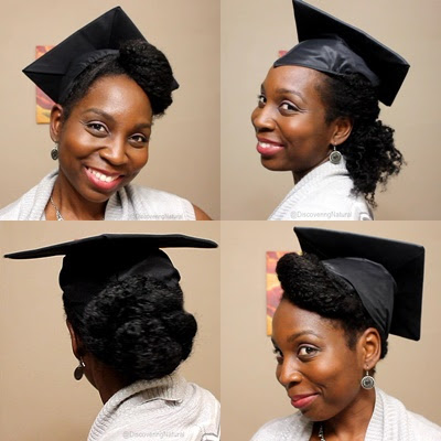 3 Quick Graduation Hairstyles for Natural Hair