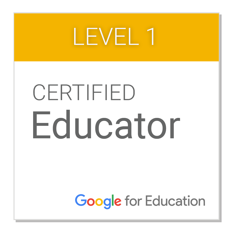 Level 1 Google Certified