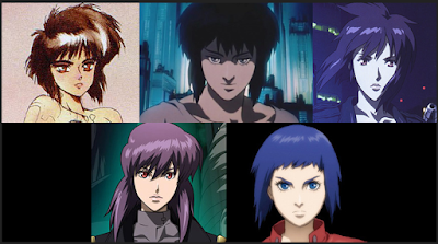 Kusanagi Motoko comparison