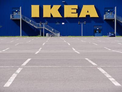 Fotoaufnahme Das Ikea Einrichtungshaus In Duisburg Hamborn
