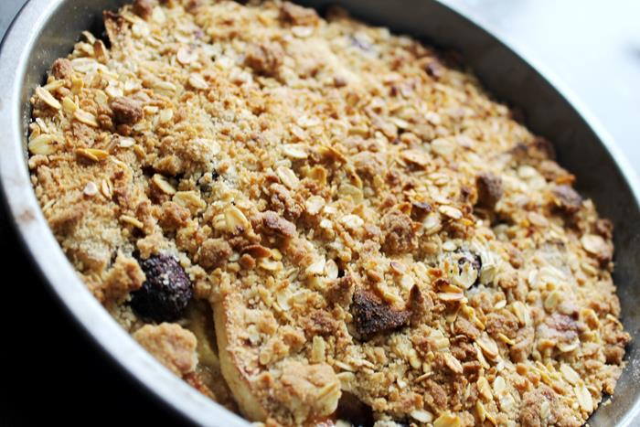recipe; cooking; dessert; crumble; apple crumble; apple and blackberry crumble; snack; cook; chef; blogger recipes;
