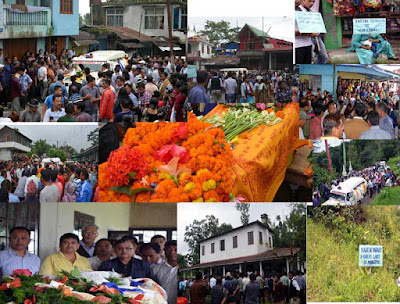 Last journey to cinchona manager Naresh Kumar Baraily