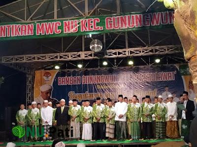 Pelantikan MWC NU Gunungwungkal