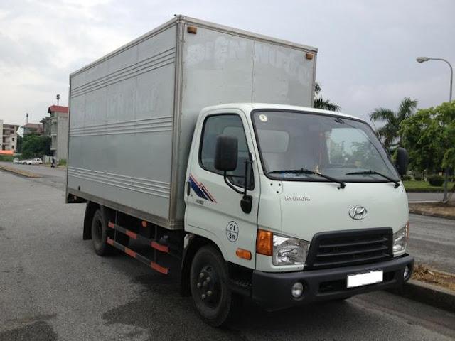 Xe hyundai 3,5 tấn cũ thùng kín