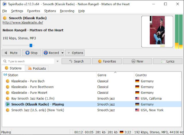 Screenshot TapinRadio Pro 2.12.3 Full Version