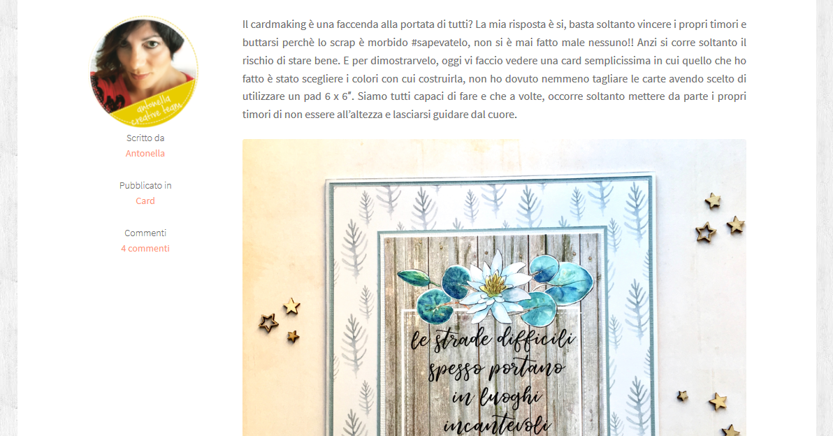nuovo sito ecommerce CreativeStudio.shop creato per una blogger creativa