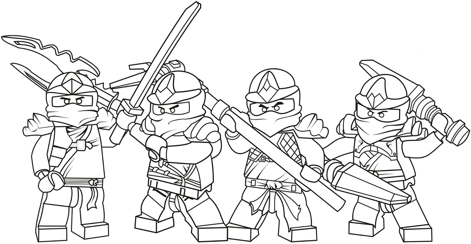 Group Of Ausmalbilder Lego Ninjago Kostenlos