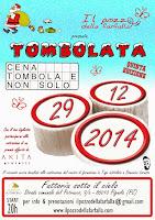 29 DICEMBRE 2014 LA TOMBOLATA 2014