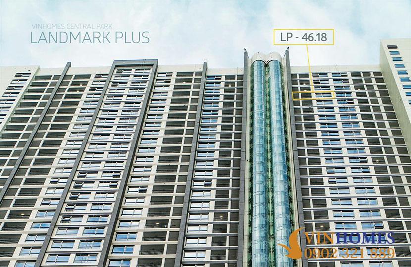 Bán căn hộ 53m2 Landmark Plus sở hữu vĩnh viễn nội thất như khách sạn - hinh 2