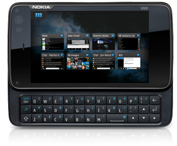 Using twitter on nokia n900 with mauku.