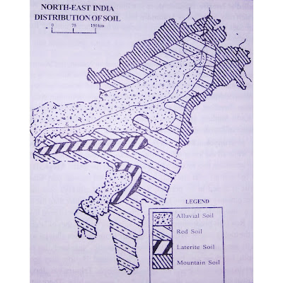 Soil Map of Northeast India