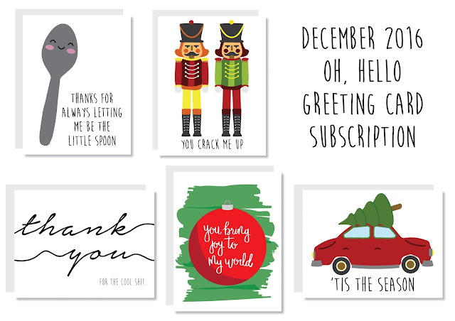 Oh, Hello Greeting Card Subscription