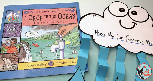 A Drop in the Ocean is a great water cycle read aloud!
