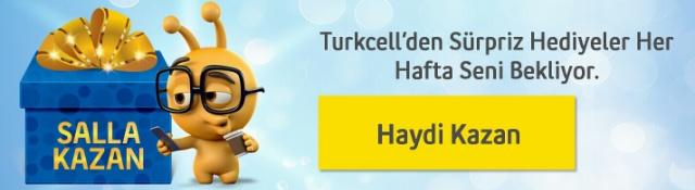 Turkcell Salla Kazan Kampanyası