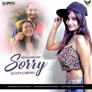 Sorry Song - Neha Kakkar (Bhangra Mix) - Dj Piyu [NewDjsWorld.Com]
