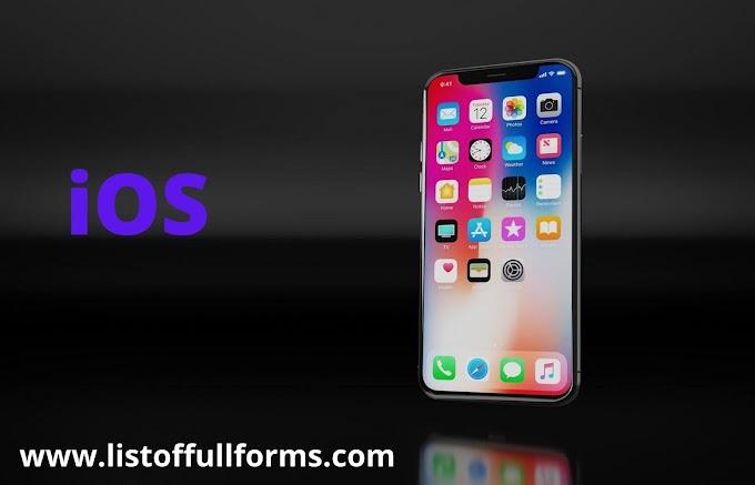 iOS full form