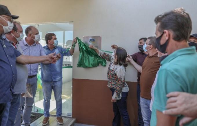 Laranjeiras: Prefeitura entrega escola totalmente modernizada no interior do município
