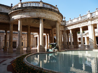 The Terme Tettuccio is one of the most famous of  Montecatini Terme's famed spas