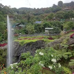 Water Fountain in Baturaden Tour